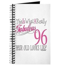 96th Birthday Gifts Journal