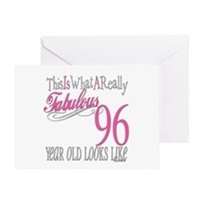 96th Birthday Gifts Greeting Card