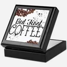 Cute Coffee Keepsake Box