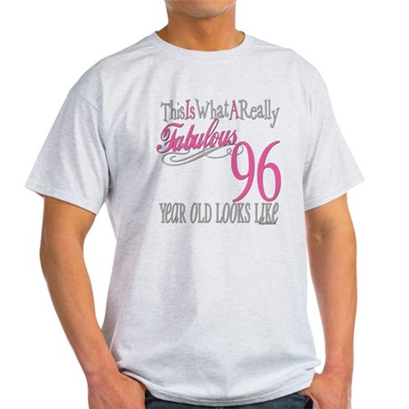 96th Birthday Gifts Light T-Shirt