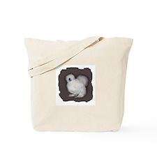 White Silkie Tote Bag