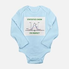 Statistically Perfect Baby Body Suit