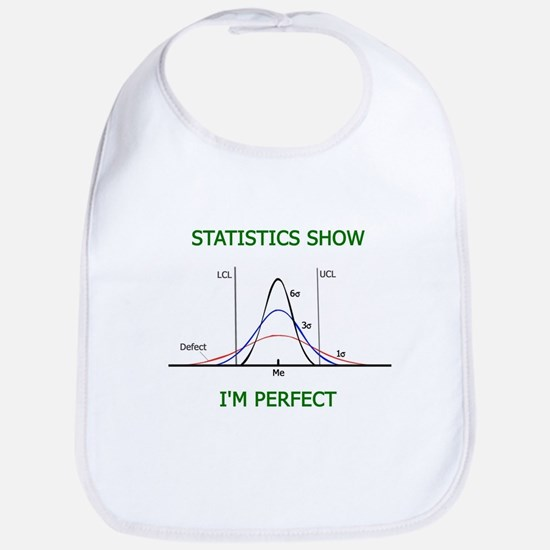 Statistically Perfect Baby Bib
