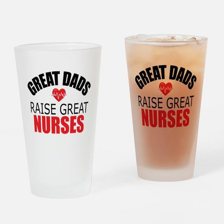 Dad of Nurse Drinking Glass