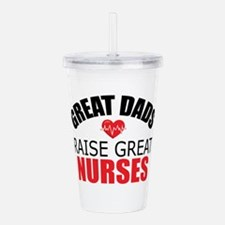 Dad of Nurse Acrylic Double-wall Tumbler