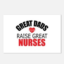 Dad of Nurse Postcards (Package of 8)