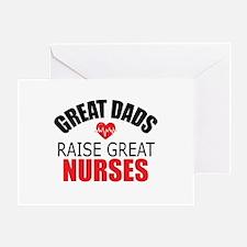Dad of Nurse Greeting Card