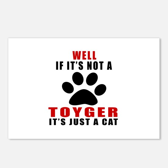 If It's Not Toyger Postcards (Package of 8)
