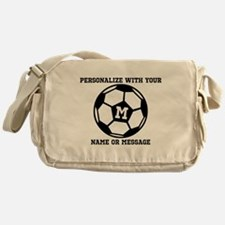 PERSONALIZED Soccer Ball Messenger Bag