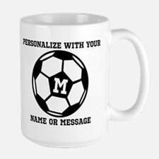 PERSONALIZED Soccer Ball Mugs