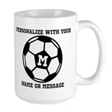 Soccer Large Mugs (15 oz)