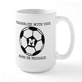 Soccer Large Mugs (15 oz)