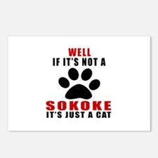 If It's Not Sokoke Postcards (Package of 8)