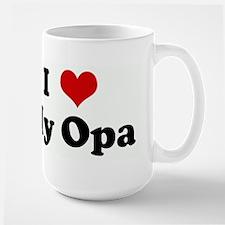 I Love My Opa Mugs