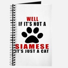 If It's Not Siamese Journal