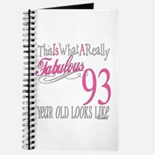 93rd Birthday Gifts Journal