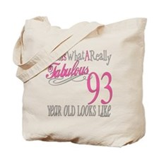 93rd Birthday Gifts Tote Bag