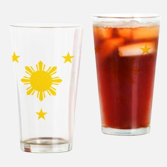Cute Pilipino Drinking Glass