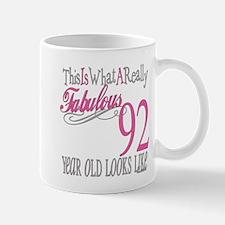 92nd Birthday Gifts Mug