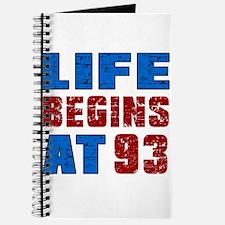 Life Begins At 93 Journal