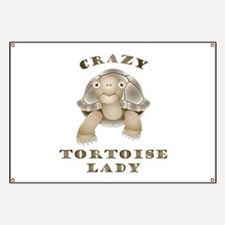 Crazy Tortoise Lady Banner