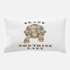 Crazy Tortoise Lady Pillow Case