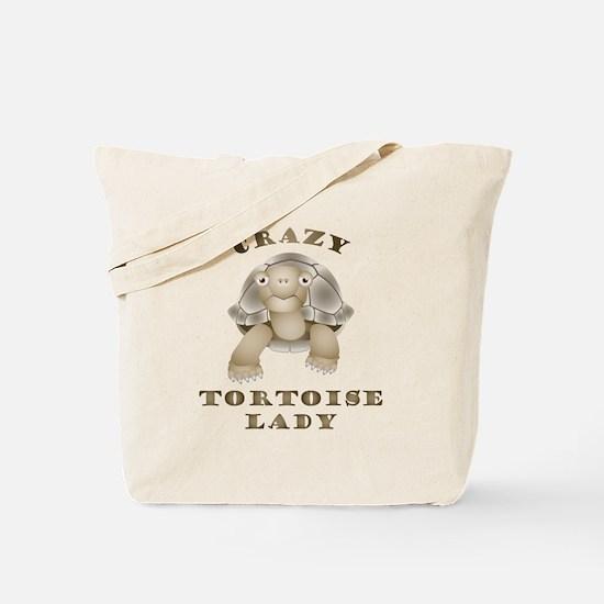 Crazy Tortoise Lady Tote Bag