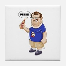 Funny Danny Tile Coaster