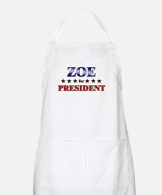 ZOE for president BBQ Apron