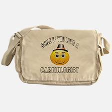 Smile If You Love Cardiologist Messenger Bag