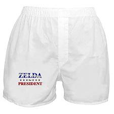 ZELDA for president Boxer Shorts