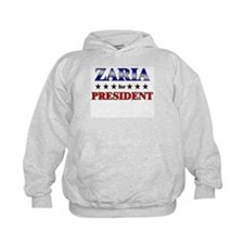 ZARIA for president Hoodie