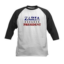 ZARIA for president Tee