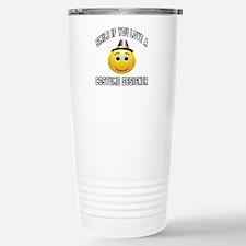 Smile If You Love Costu Travel Mug