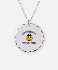 Smile If You Love Costume de Necklace