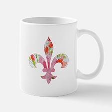 Floral Fleur de lis (2) Mug
