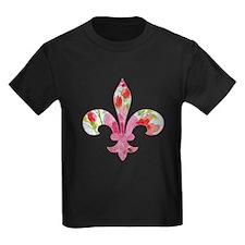 Floral Fleur de lis (2) T