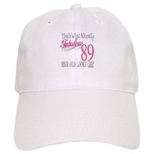 89th Birthday Gifts Baseball Cap