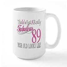 89th Birthday Gifts Mug