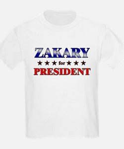 ZAKARY for president T-Shirt