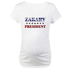ZAKARY for president Shirt