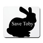 Save Toby Mouse Pad