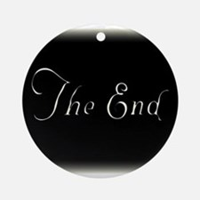 The End Round Ornament
