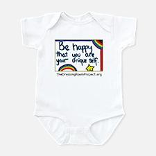 """""""Be Happy"""" Infant Bodysuit"""