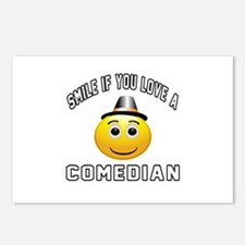 Smile If You Love Comedia Postcards (Package of 8)