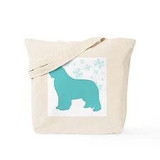 Newfoundland Snowflake Tote Bag
