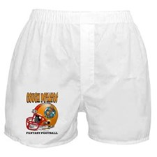 Fantasy Football - Couch Potatos Boxer Shorts