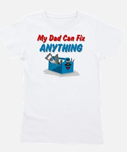Fix Anything Dad Girl's Tee