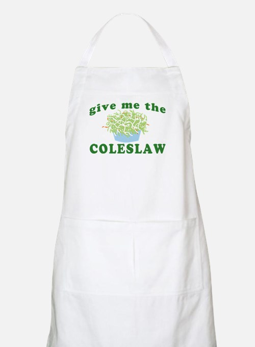 Give Me The Coleslaw BBQ Apron