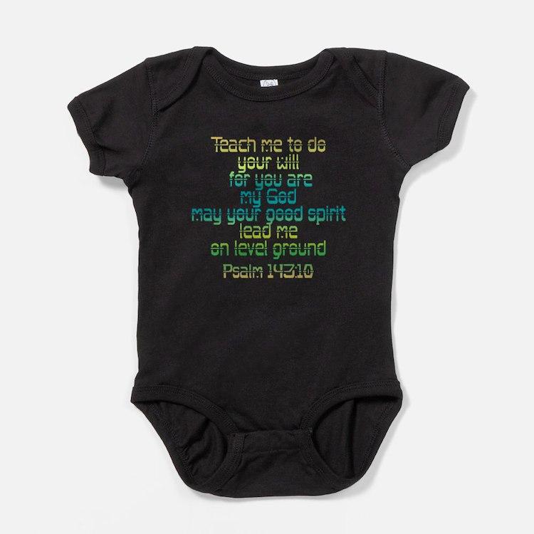 Cute Biblical scripture Baby Bodysuit
